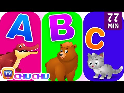 Alphabet Rhymes Alphabet Animals Song with Animal Names