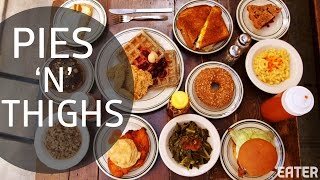 Assembling the Ultimate Southern Brunch at Pies 'N' Thighs in Williamsburg by Eater