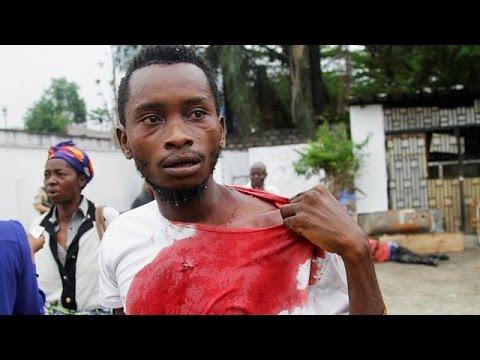 Λ.Δ.Κονγκό: Φωτιά στα γραφεία κομμάτων της αντιπολίτευσης