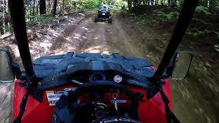 6. Riding at Majestic trails in my Polaris ACE 570 5/28/2018
