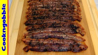 Cook your Bacon in the oven, it's easy, and you can flavor it if you want.