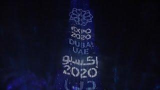 Tak wygląda świętowanie nowego roku w Dubaju!