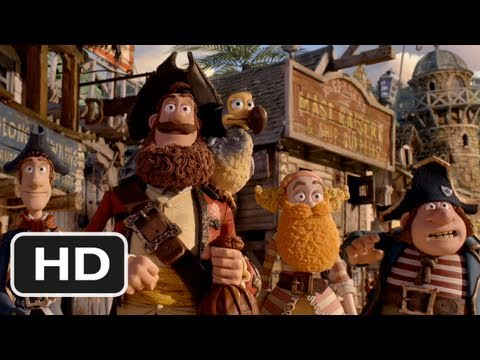 watch The Pirates! Band of Misfits trailer
