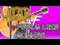 Weezer - Feels Like Summer (Acoustic) Guitar Cover 1080P