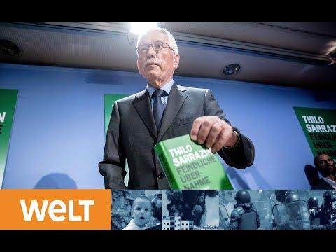 """""""Feindliche Übernahme"""": Buchvorstellung von Thilo Sarrazin"""