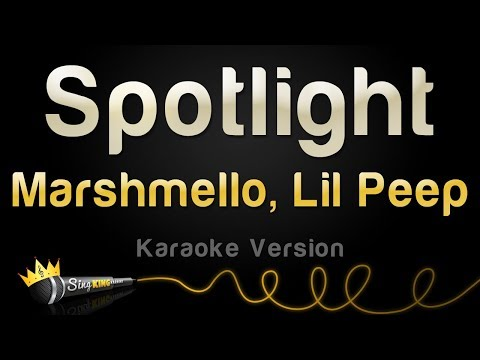 Video Mashmello x Lil Peep - Spotlight (Karaoke Version) download in MP3, 3GP, MP4, WEBM, AVI, FLV January 2017