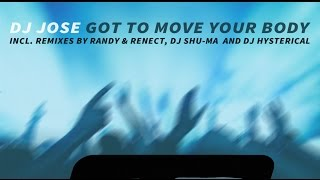 DJ Jose - Got To Move Your Body (Ryoma Sasaki & DJ Shu-ma Funky Disco Remix) SR0004 DJ José is back on Side Recordings with his second single 'Got To Move Yo...