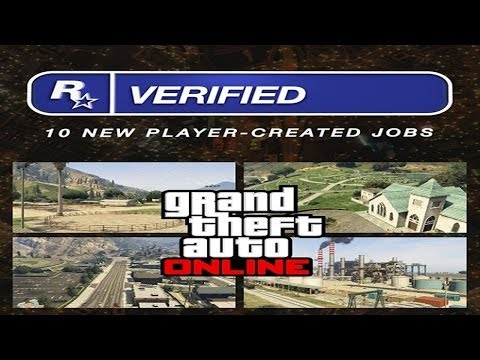 "GTA 5 Online Newest Rockstar Verified Jobs Patch 1.11 (GTA V) ""GTA Online Jobs"""
