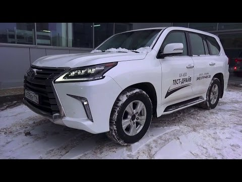 2016 Lexus LX 450d Executive 2. Start Up, Engine, and In Depth Tour.