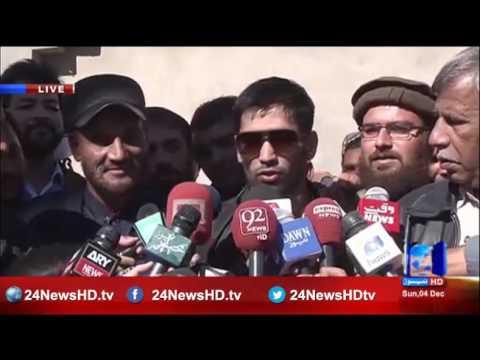 Pakistani boxer Mohammad Waseem's media talk