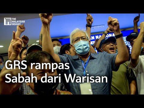 PRN Sabah | Warisan tumbang, gabungan BN dan PN menang