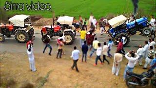 Swaraj 855+Swaraj 855 vs Sonalika 750 Tractor Tochan