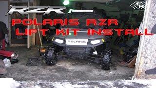 10. Polaris RZR 800 3IN LIFT KIT INSTALL EP 5 Garage Edition Season 2