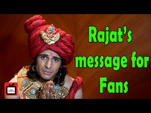 I want my fans to know me by my characters : Rajat