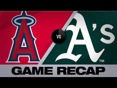 Video: A's smash 3 homers in 4-0 shutout of Angels | Angels-Athletics Game Highlights 9/4/19