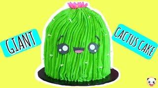 KAWAII CAKES-GIANT CACTUS CAKE