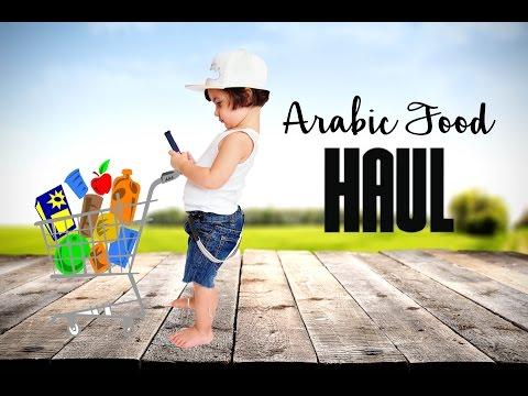 Arabic Food Haul! Grocery shopping at an Arabic market.