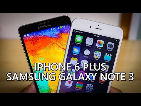 samsung - The flagship line that arguably started the large phone form factor now has competition from the Apple side. This is the iPhone 6 Plus vs the Samsung Galaxy Note 3. Talk about Android in our...