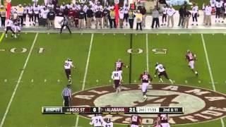 AJ McCarron vs Mississippi State (2012)