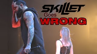 Video Skillet Goes WRONG at Winter Jam 2018! . . . (Then gets EPIC!) MP3, 3GP, MP4, WEBM, AVI, FLV Mei 2018