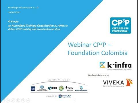 Webinar sobre CP3P - Foundation Colombia: Andrés Rebollo y Mateo de los Ríos