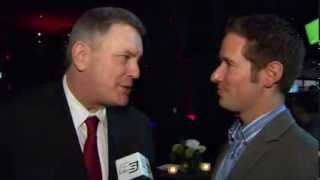 /Tim Leiweke Speaks with Jon Abbott at Players' Gala presented by BlackBerr