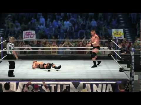 0 Steve Austin vs. Brock Lesnar in WWE 12