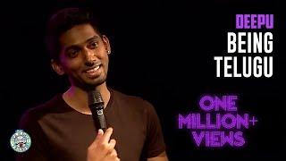 Deepu - On Being Telugu - standup comedy video