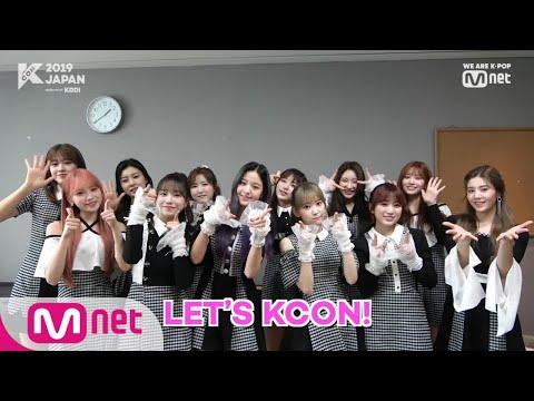 [#KCON2019JAPAN]こんにちは!#IZONE - Thời lượng: 47 giây.