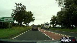 Morpeth United Kingdom  city photos gallery : QQLX 0002 United Kingdom A1 trip from Morpeth to Alnwick - Street view car 2012