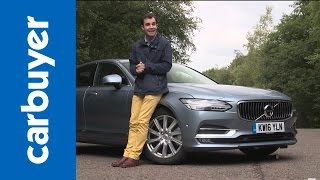 Volvo S90 saloon 2016 review – Carbuyer by Carbuyer