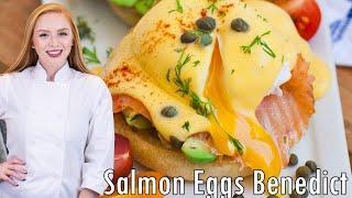 Smoked Salmon Eggs Benedict by Tatyana's Everyday Food