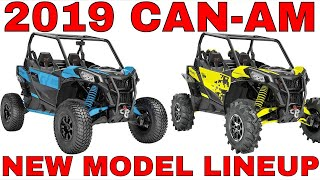 8. 2019 CAN-AM NEW MODEL LINEUP DISCUSSION