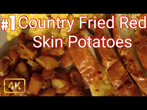 How To Make|Country Fried Red Skin Potatoes|Recipe