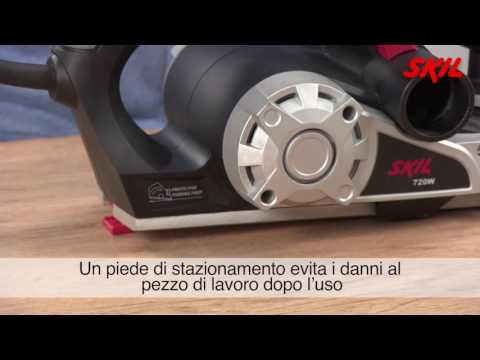 Come utilizzare una pialla elettrica?