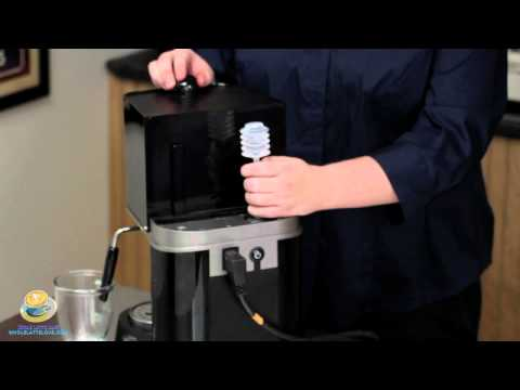 How to prime the boiler on your Espresso Machine
