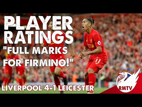 "Liverpool V Leicester 4-1| ""Full Marks For Firmino!"" 