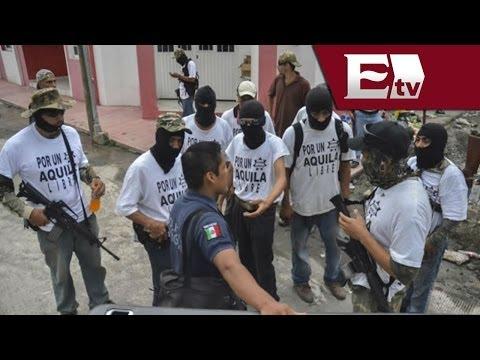 Grupos de autodefensa  excépticos ante la captura de Kike Plancarte / Titulares de la noche (видео)