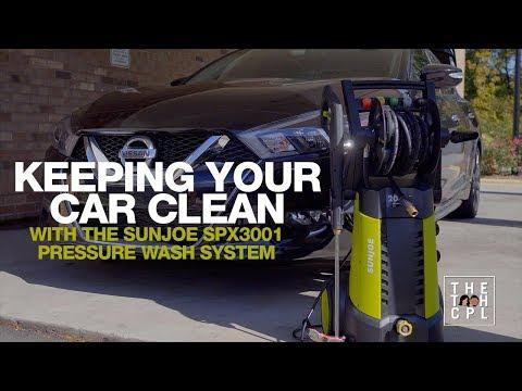 , title : 'Sunjoe SPX3001 Pressure Washer with MATCC Foam Cannon'