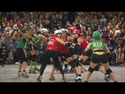 Amerikanerinnen gewinnen Roller Derby World Cup