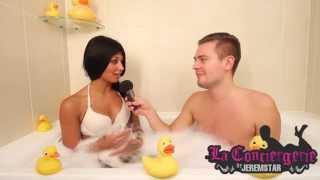 Video Jessica (Les Anges 7) dans le  bain de Jeremstar - INTERVIEW MP3, 3GP, MP4, WEBM, AVI, FLV Agustus 2017