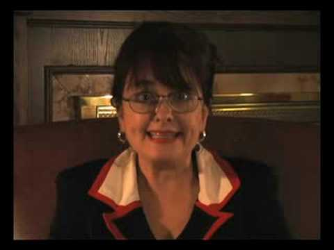 Julie Brown as Sarah Palin - Lawyers