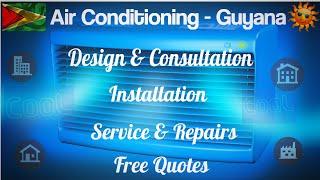 Air-conditioning installation and repair Guyana   air-con maintenance
