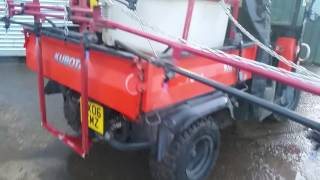 5. Custom Kubota RTV900 Sprayer - Greenheath