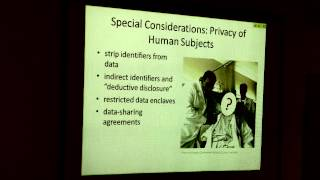 UCLA Biomedical Library - NIH's Data Sharing Policy: How To Write A Data Sharing Plan - 2013-08-28