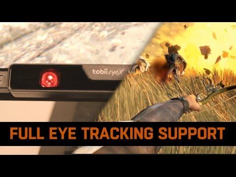 Full Eye-Tracking Support in Dying Light