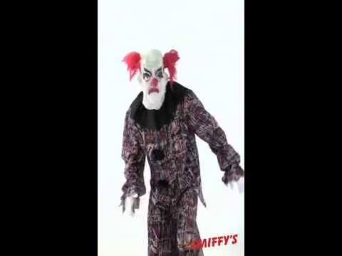Déguisement de clown fou pour Halloween