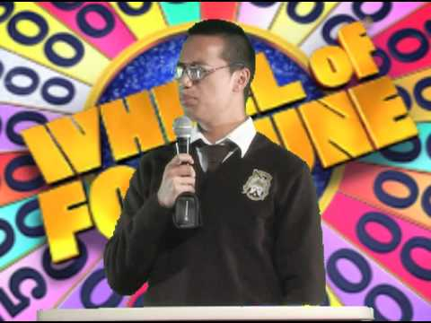 WHEEL OF FORTUNE COMEDY SKIT