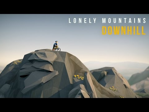 Lonely Mountains: Downhill - Greenlight Trailer [Pre Alpha] (видео)