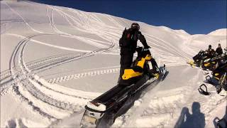 8. SnoWest rides the 2013 Ski-Doo Summit 800R XM in Sicamous, BC